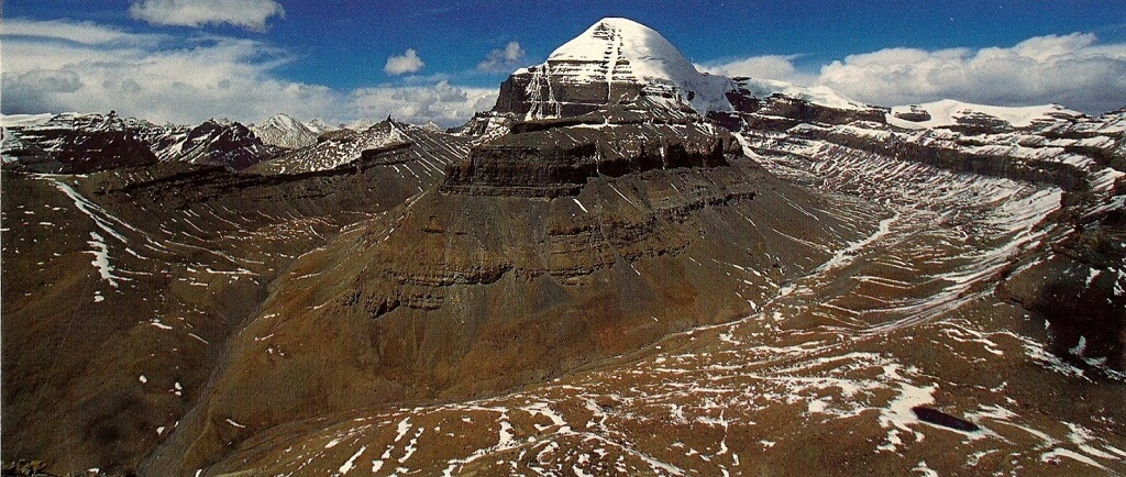 Mount Kailash with Nandi parvat.
